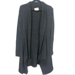 Chunky knit oversized Cardigan D2